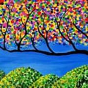 The Calming Tree  Art Print