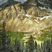 The Canadian Rockies Art Print