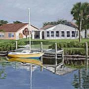 The Canal Awakens Art Print