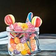 The Candy Jar Art Print