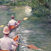 The Canoes Art Print