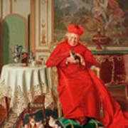 The Cardinal's Favourite Art Print