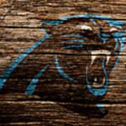 The Carolina Panthers 4a Art Print