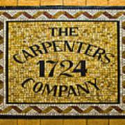The Carpenters Company Art Print