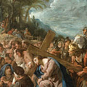 The Carrying Of The Cross Art Print