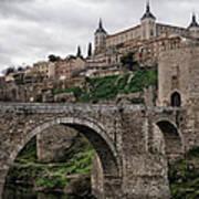 The Castle And The Bridge Art Print