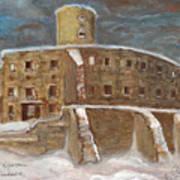 The Castle Art Print by Anna Folkartanna Maciejewska-Dyba