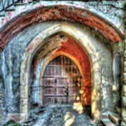 The Castle Door - La Porta Del Castello Art Print