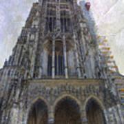 The Cathedral At Ulm Art Print