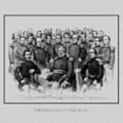 The Champions Of The Union -- Civil War Art Print