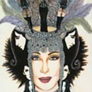 The Cher-est Painting Art Print