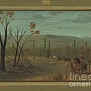 The Cheyenne Brothers Returning From Their Fall Hunt Art Print