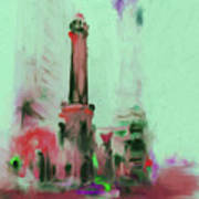 The Chicago Water Tower 535 4 Art Print