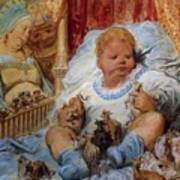 The Childhood Of Pantagruel Art Print