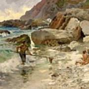 The Children Of The Sea - Capri Art Print