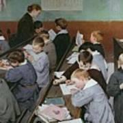 The Children's Class Art Print