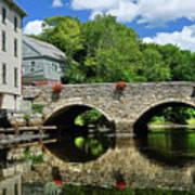 The Choate Bridge Art Print