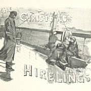 The Christmas Hirelings Art Print