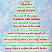The Christmas Prayer Art Print