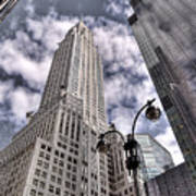 The Chrysler Building In Nyc Usa Art Print