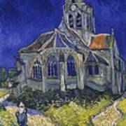 The Church At Auvers Art Print