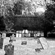 The Churchyard Art Print