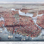 The City Of Boston Art Print