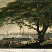 The City Of Philadelphia In The State Of Pennsylvania. North America Art Print