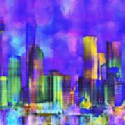 The City  Sydney Art Print