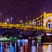 The Clemente Bridge Heading To The Northshore Art Print