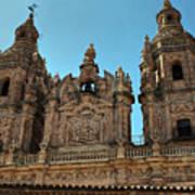 The Clerecia Church In Salamanca Art Print
