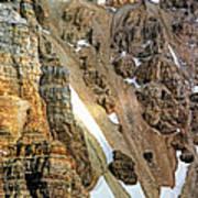 The Climb To Abbot's Hut Art Print