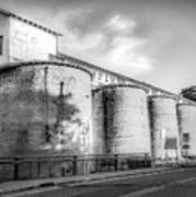 The Coal Silos Art Print