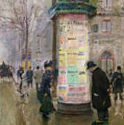 The Colonne Morris Art Print