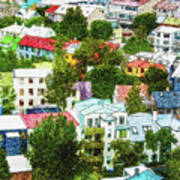 The Colors Of Reykjavik Art Print