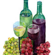 The Colors Of Wine Art Print