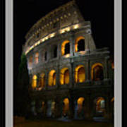 The Colosseum Art Print