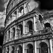 The Colosseum Rome Art Print by Darren Burroughs