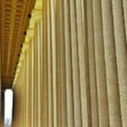 The Columns At The Parthenon In Nashville Tennessee Art Print