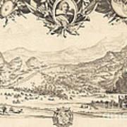 The Combat Of Avigliana Art Print