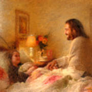 The Comforter Art Print by Greg Olsen