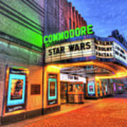 The Commodore Theatre, Portsmouth, Va Art Print