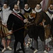 The Company Of Captain Dirck Jacobsz Rosecrans And Lieutenant Pauw, Amsterdam Art Print