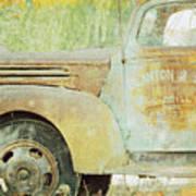 The Company Truck Art Print
