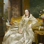 The Comtesse D'egmont Pignatelli In Spanish Costume Art Print