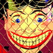 The Coney Smile Art Print