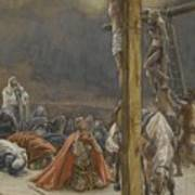 The Confession Of Saint Longinus Art Print by Tissot