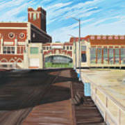 The Convention Hall  Asbury Park  Art Print