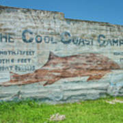 The Cool Coast Camp Art Print
