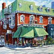 The Corner Market Art Print